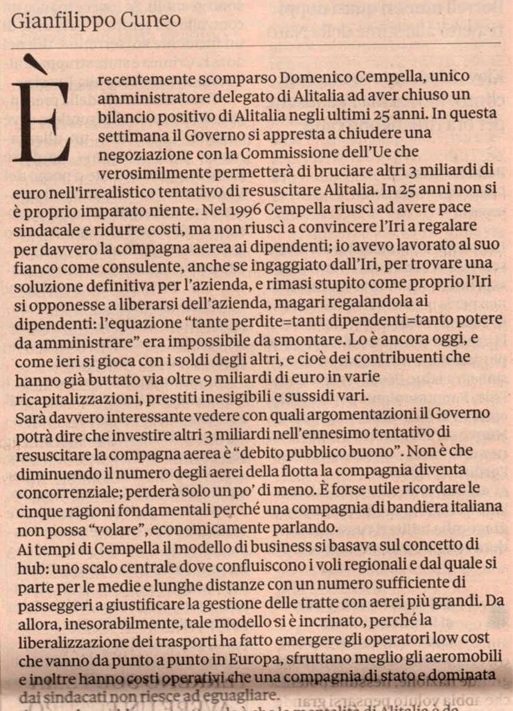 Alitalia, scontro con la EU - Pagina 8 Ba82c5f883b85b3364be47b8fe03bb69