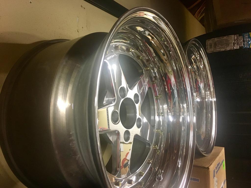 new bogart rear drag wheels 17x10.5 race rims gt 5 spoke