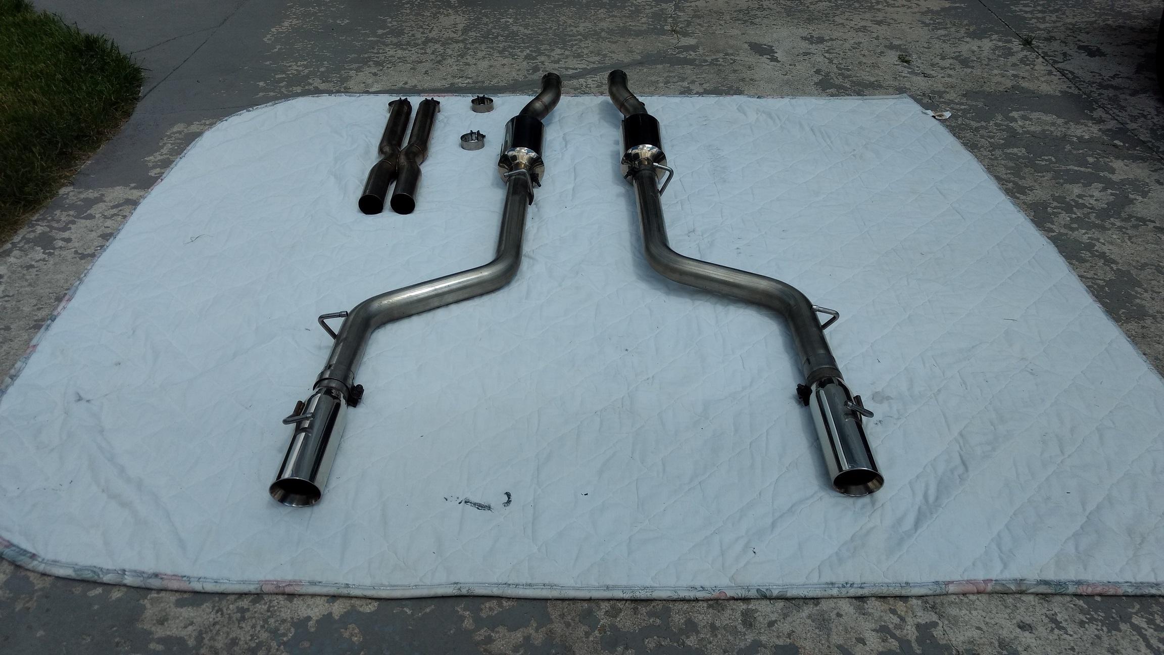Zoomers Exhaust For Sale - 2005-2010 SRT8 / 6.1L Hemi