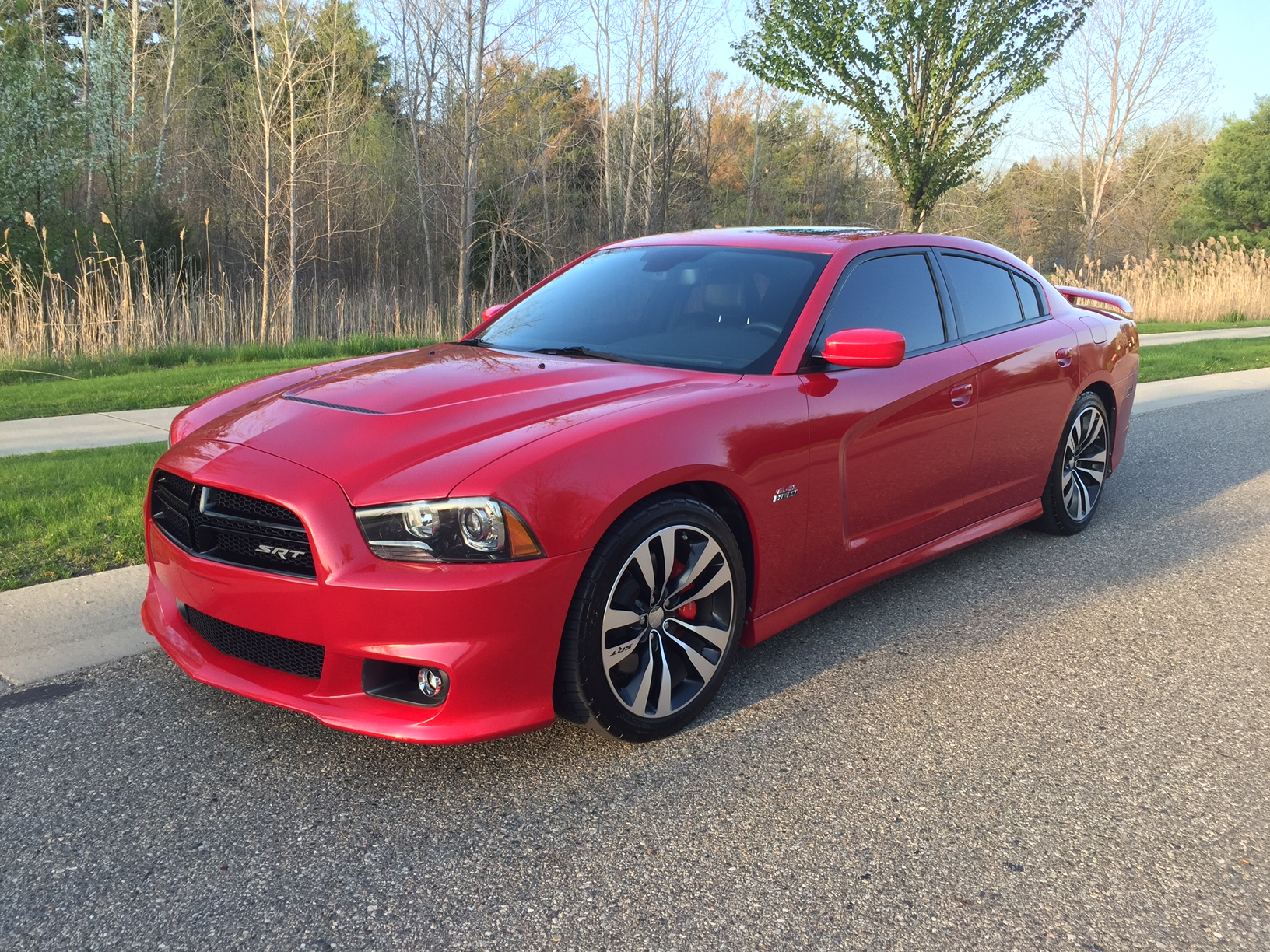 for sale 2012 dodge charger srt8 pearl red. Black Bedroom Furniture Sets. Home Design Ideas