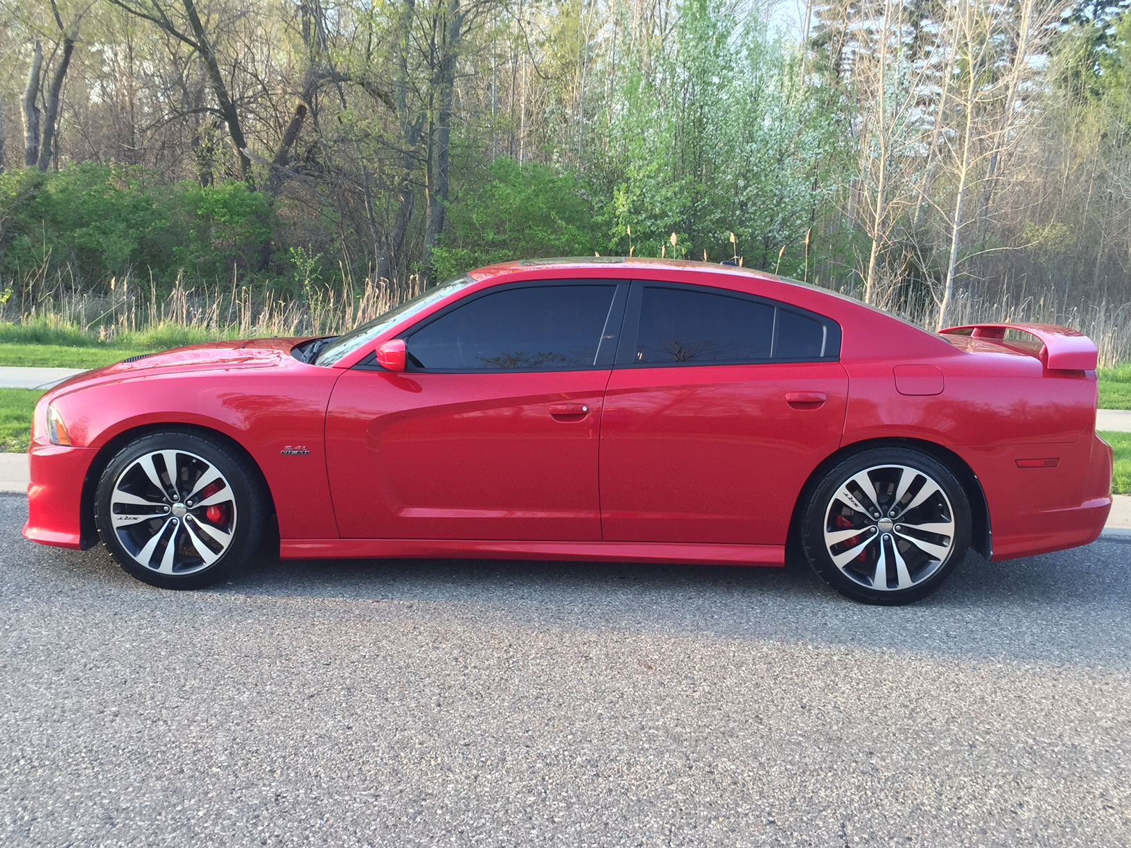 FOR SALE 2012 Dodge Charger SRT8 Pearl Red