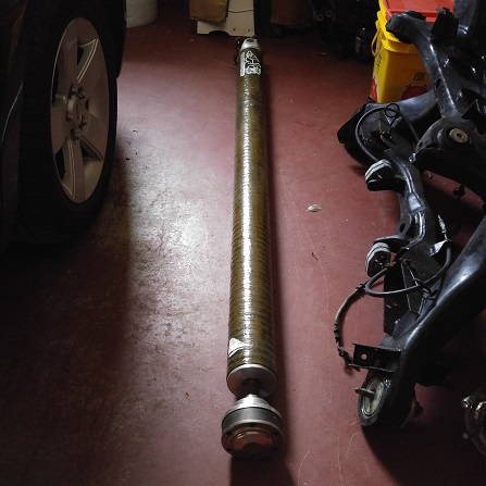 Drive Shaft Shop (DSS) Carbon Fiber Driveshaft