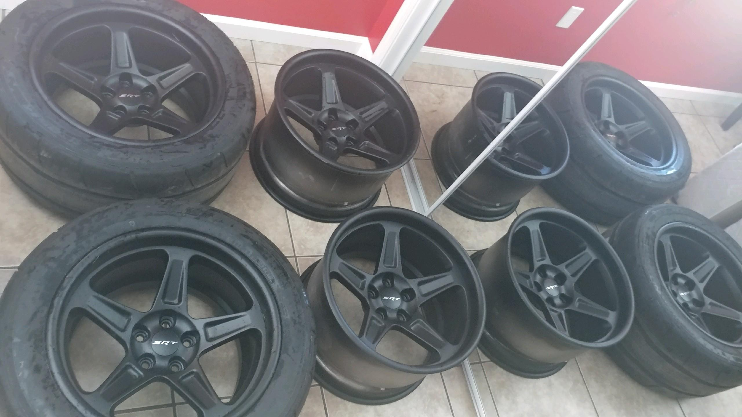 Sold Dodge Demon Wheels For Sale