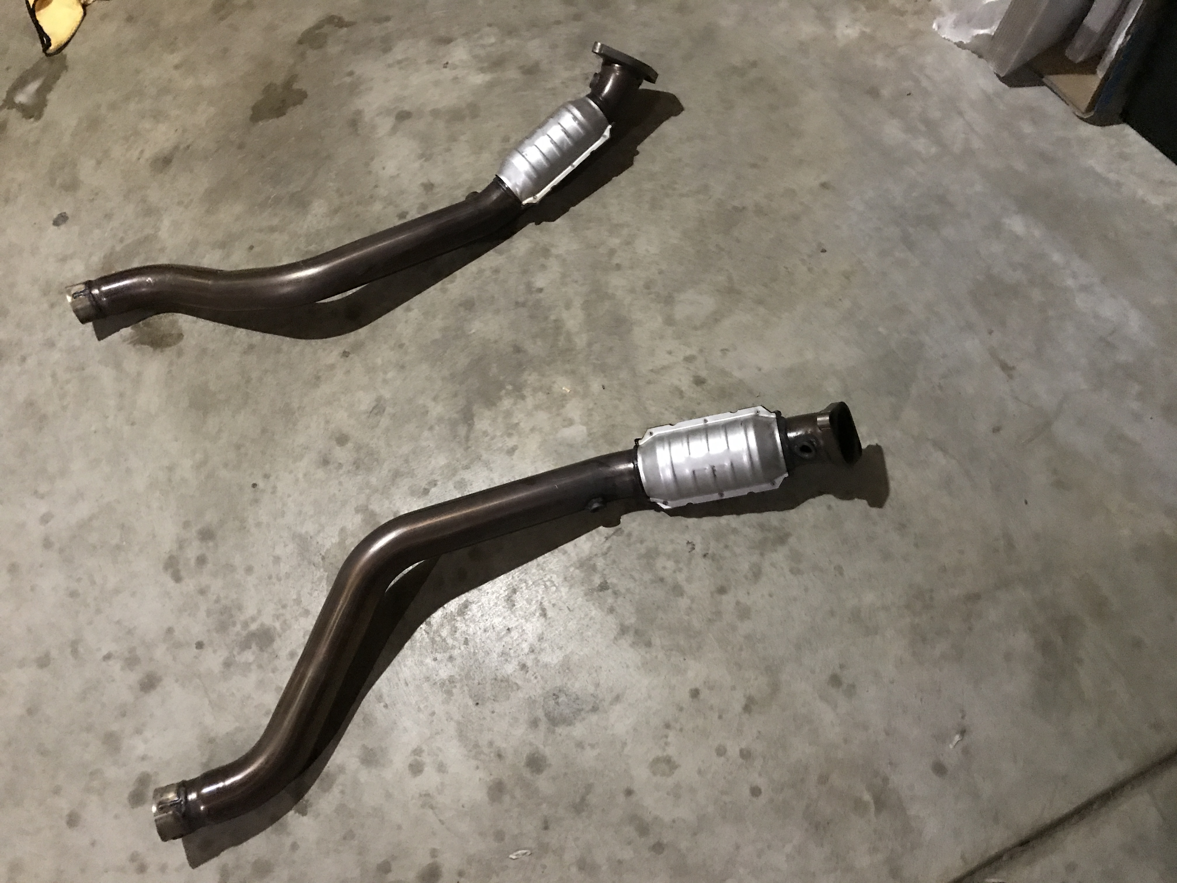 Magnaflow catted mid pipes for sale Used