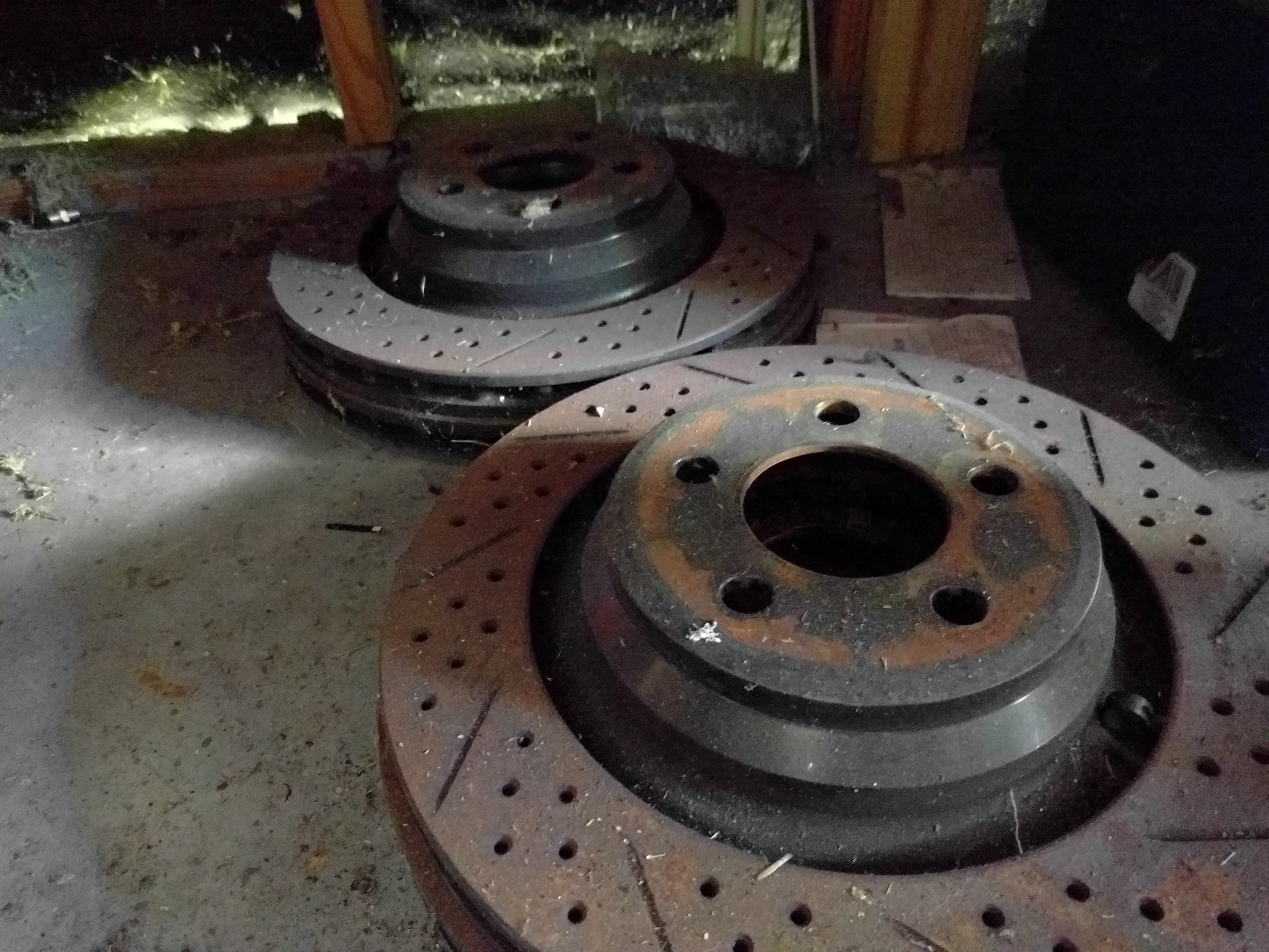 Brembo brake conversion