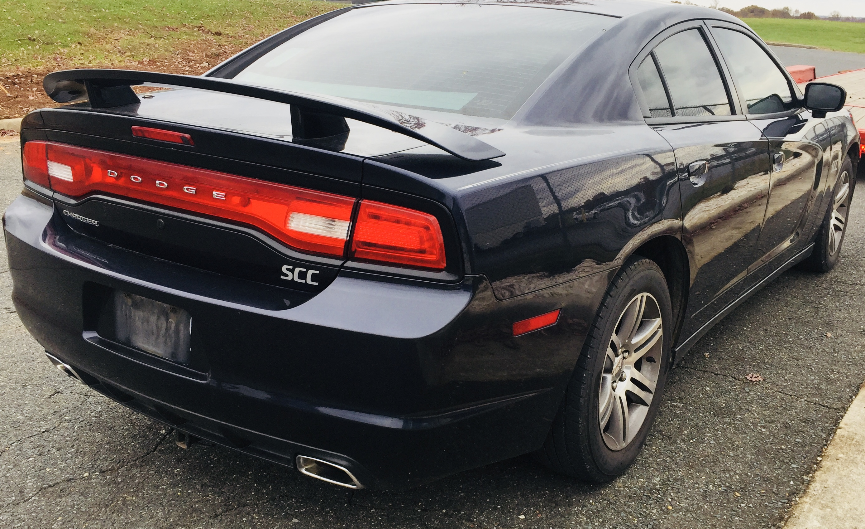 2012 Dodge Charger HEMI Police Undercover