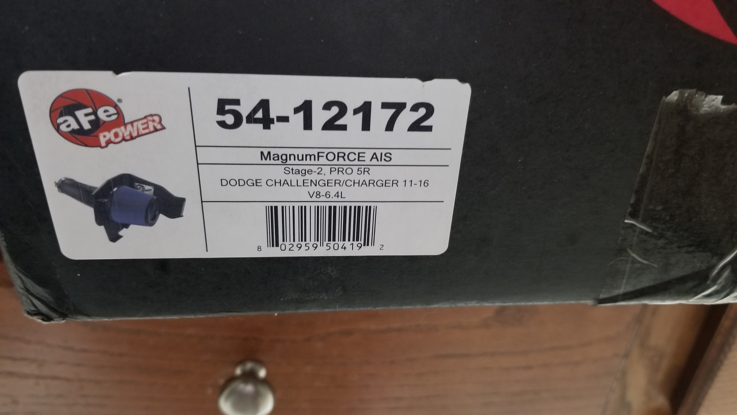 Afe pro 5r intake 392 still in box brand new