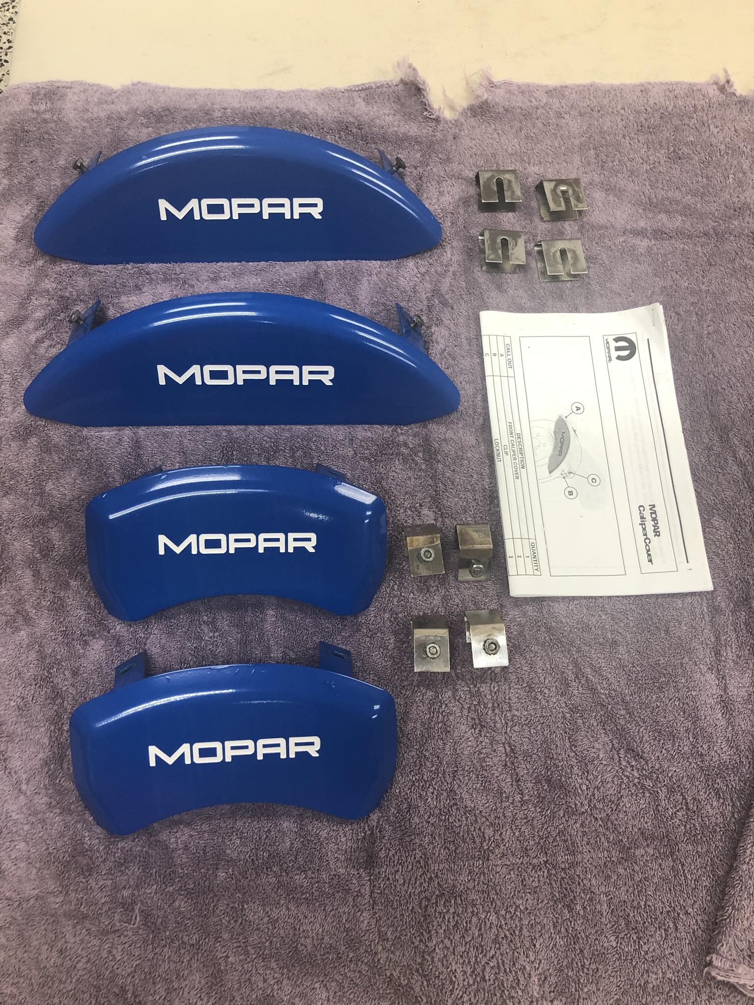 Mopar Caliper Covers - #82213125 - 11-19 Challenger/Charger RT