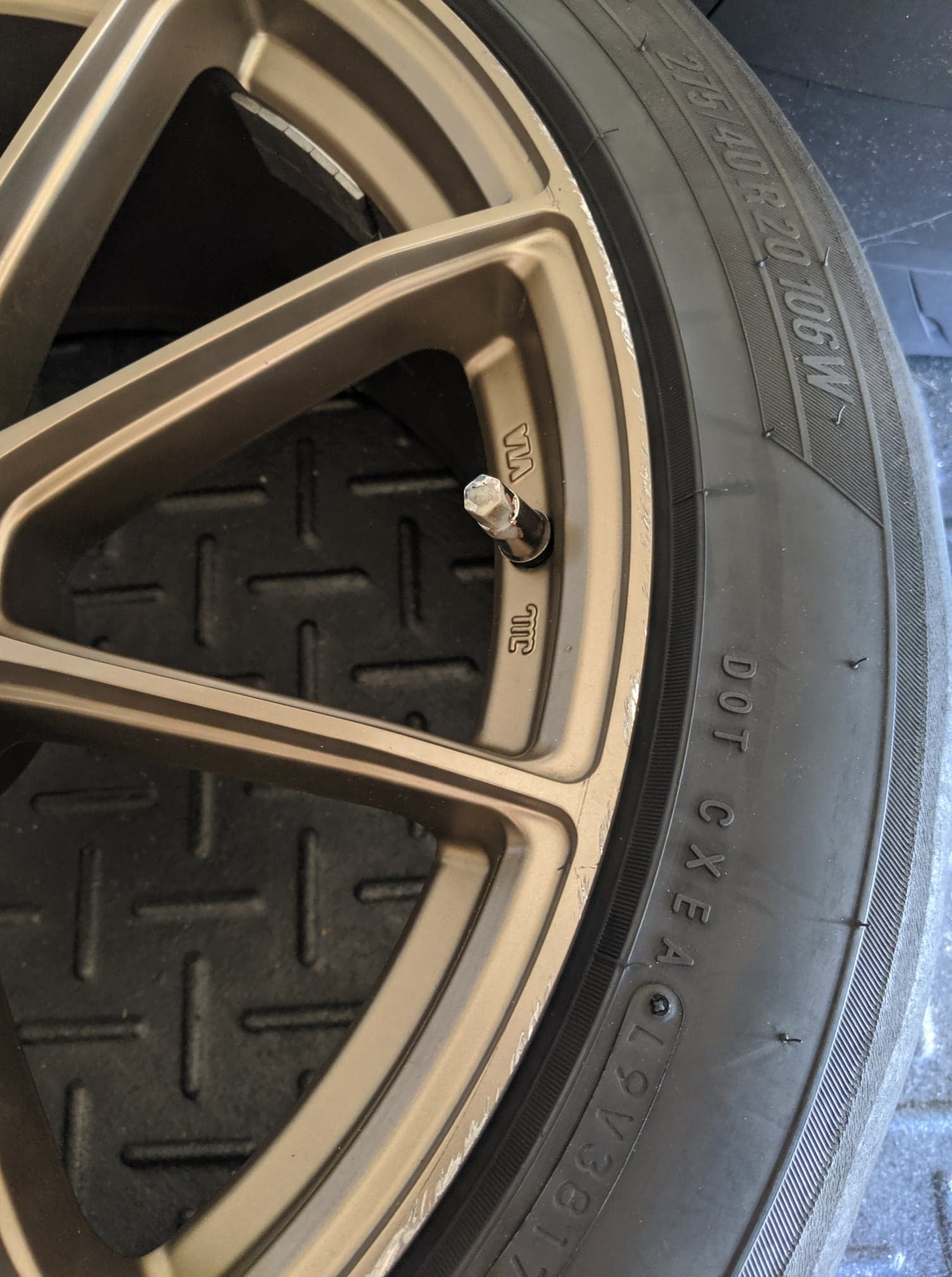 Flow One Race Spec F3 Bronze Wheels
