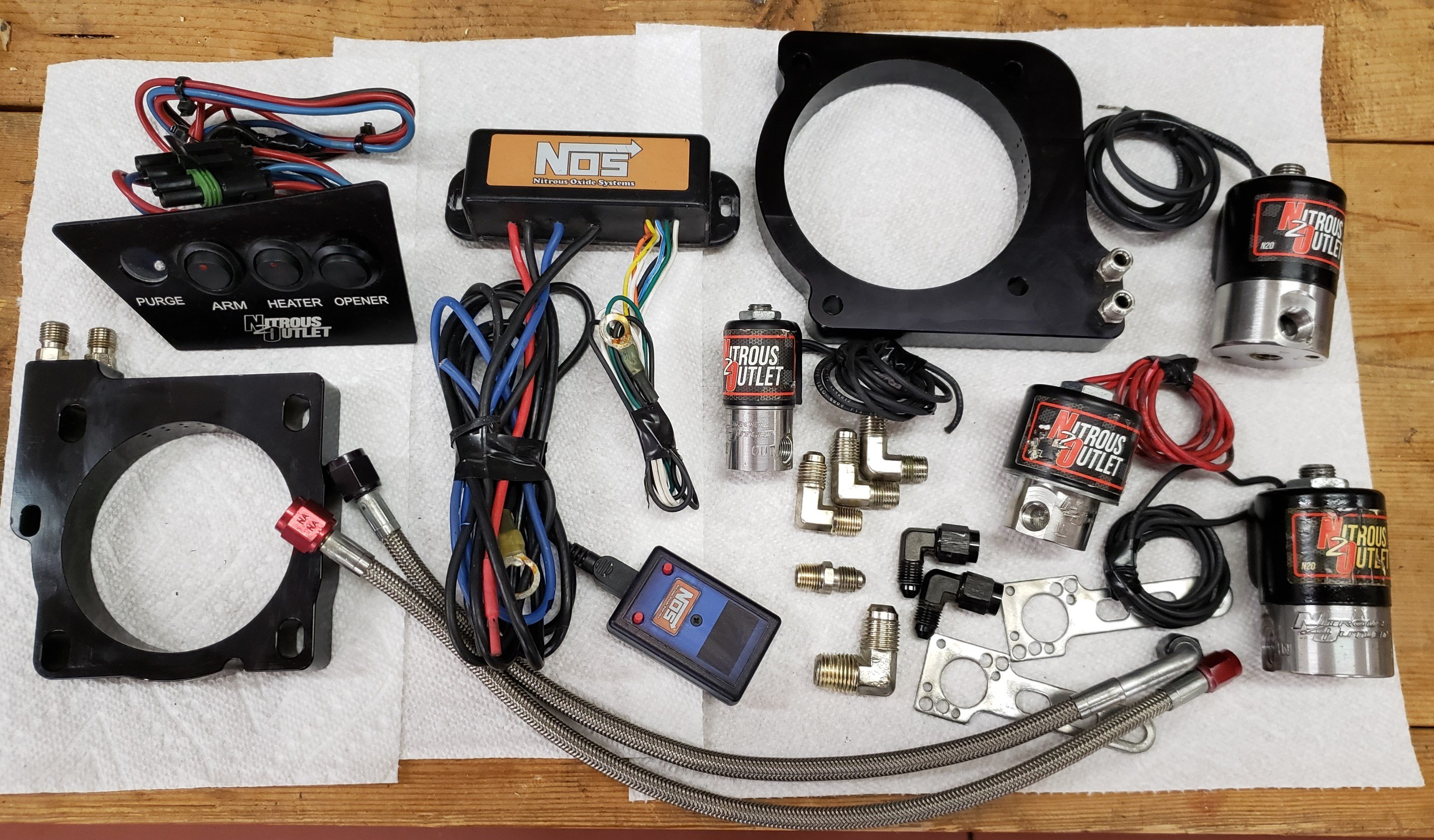 Nitrous System/Parts, NOS Mini, Plates, etc