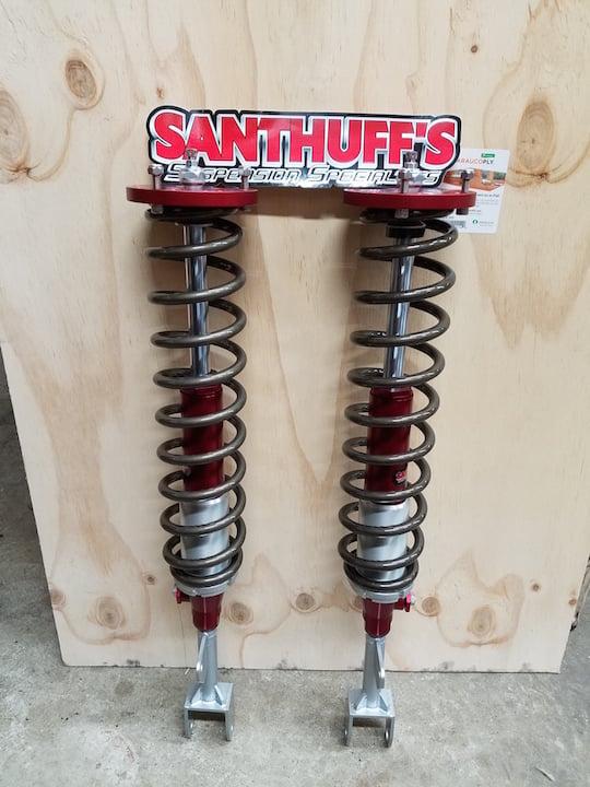 Santuff Double adjustable front struts