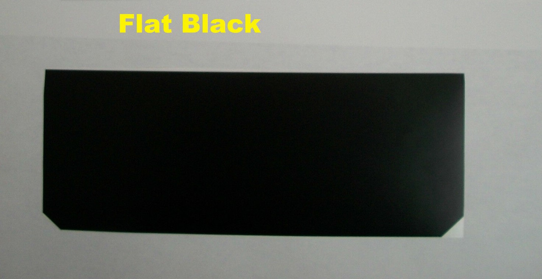 Sun Visor Warning Label Covers Overlay Blackout Sticker Decal