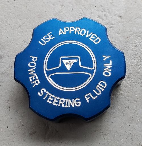 Under Hood Engine Blue Billet Bling Caps Covers Aluminum SRT 392