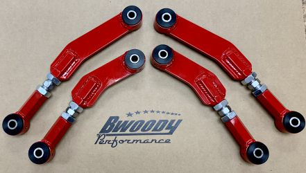 B. Woody Rear Adjustable Upper And Lower Control Arms